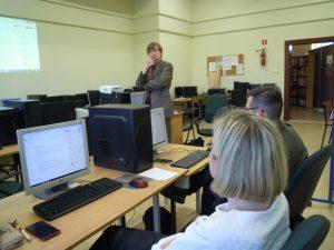 Krzysztof Oleś prowadzi warsztaty
